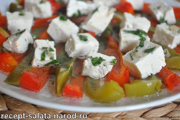 Салати з морепродуктами, фото